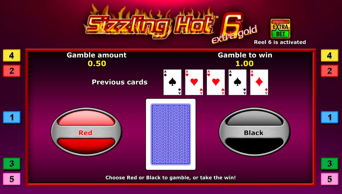 Juego Sizzling Hot 6