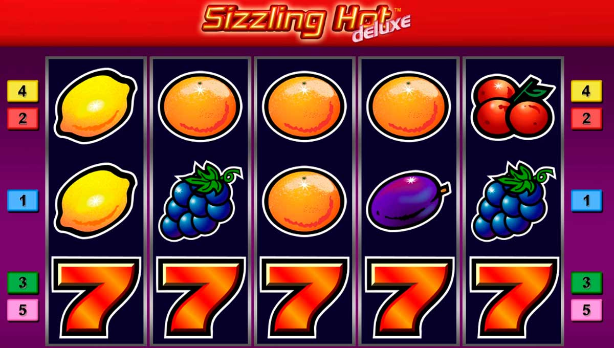 sizzling hot slot machines