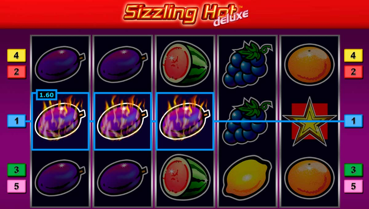 sizzling hot deluxe play free